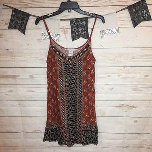 American Rag Cie Floral Boho Slip Dress Size M